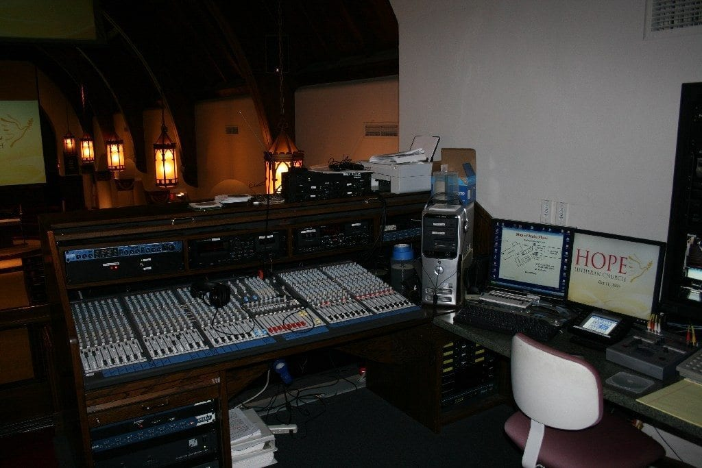 Audio Systems for Churches and Houses of Worship