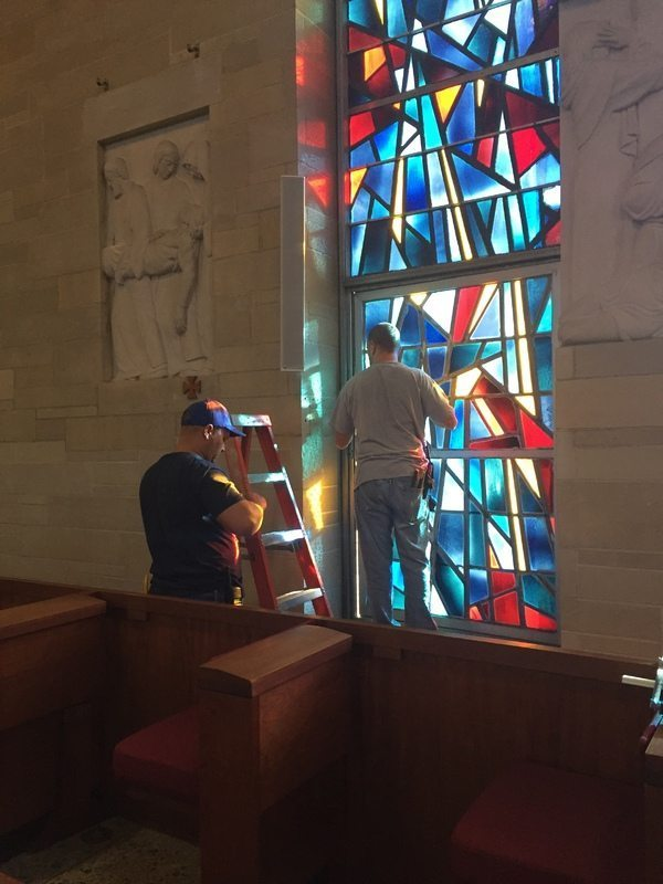 Masque Sound's Audio Equipment Retrofit At Manhattanville College's O'Byrne Chapel