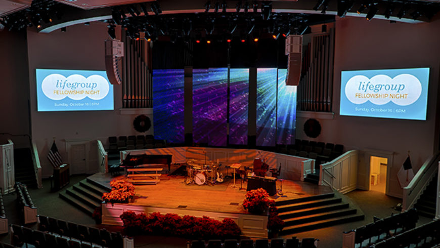 PixelFLEX, S&L Integrated, And JR Clancy Team Up At First Baptist Thomasville