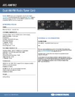 atc-amfm2 – Datasheet
