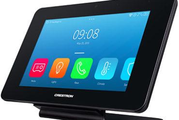 Crestron Debuts TST-902 Touch Screen Controller