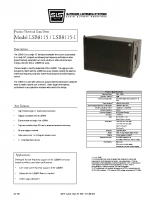 LSB8115 Data Sheet Rev 805