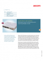 IP6010 VoIP Gateway Data Sheet